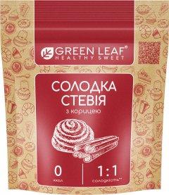 Заменитель сахара Green Leaf Сладкая Стевия с корицей 1: 1 100 г (4820236270079)