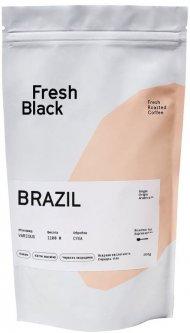 Кофе в зернах Fresh Black Brasil Diamond 200 г (4820205020742)