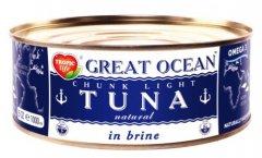 Тунец целый Tropic Life Great Ocean в собственном соку 950 г (5060235659188)