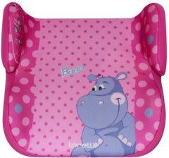 Бустер Bertoni (Lorelli) Topo Comfort (15-36 кг) Pink Hippo (TOPO COMFORT pink hippo)