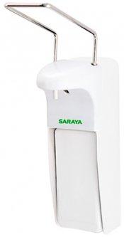 Дозатор для жидкого мыла/антисептика SARAYA MDS-1000PW локтевой