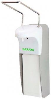 Дозатор для жидкого мыла/антисептика SARAYA MDS-1000A локтевой