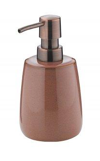 Дозатор для жидкого мыла Kela Liana розово-коричневый (23630)