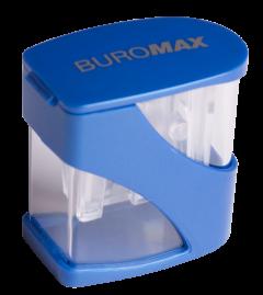 Точилка Buromax Master twist большая с контейнером 2 отверстия (BM.4777-1)
