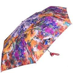 Зонт женский компактный облегченный разноцветный HAPPY RAIN