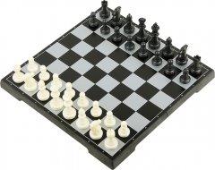 Магнитная настольная игра UB 3 в 1 Шашки + шахматы + нарды 25 х 25 см (38810) (2000999555275)