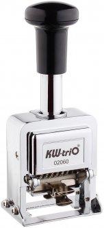 Нумератор Кw-triO 02060 6-ти разрядный 4.8 мм металлический корпус (4714218030051)