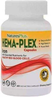 Натуральная добавка Natures Plus Hema-Plex №60 (97467037724)