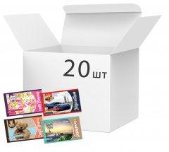 Набор альбомов для рисования Апельсин 20 листов х 20 шт (АМП-С-20)