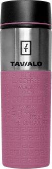 Термокружка Tavialo + 2 уплотнительных кольца 420 мл Розовая (190420111)