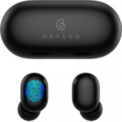 Наушники Haylou GT1 Plus TWS Qualcomm AptX Black (6971664930177)