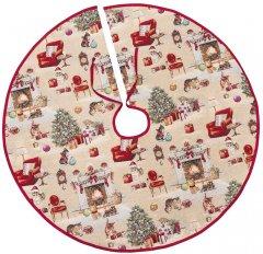 Покрывало под елку Limaso новогоднее гобеленовое EDEN966-SD 90 см (ROZ6400053542)