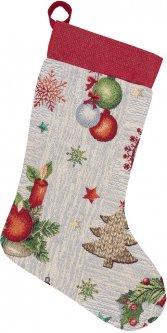 Носок для подарков Limaso гобеленовый EDEN913-CH 25х37 (ROZ6400053511)