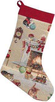 Носок для подарков Limaso гобеленовый EDEN966-CH 25х37 (ROZ6400053536)