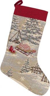 Носок для подарков Limaso гобеленовый EDEN970-CH 25х37 (ROZ6400053561)