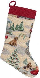Носок для подарков Limaso гобеленовый EDEN995-CH 25х37 (ROZ6400053611)