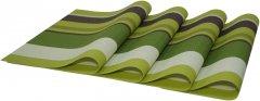 Набор сервировочных ковриков Supretto 45х30 см Зеленый (5065-0001)