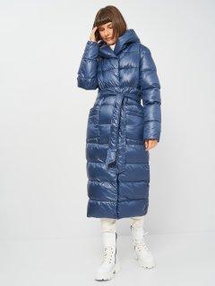 Пальто-пуховик Nui Very Пандора 0000019931 52 Темно-синее-90 (2100001174156)