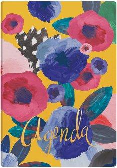 Недатированный ежедневник Brunnen Агенда Flex Flowers А5 320 страниц (73-796 38 941)
