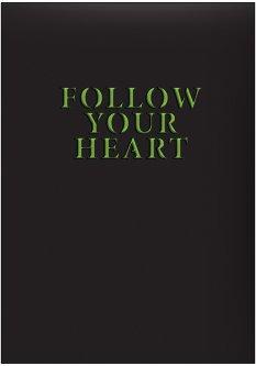 Недатированный ежедневник Brunnen Агенда Strong Follow your heart А5 320 страниц (73-796 60 011)