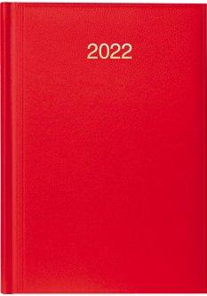 Датированный ежедневник Brunnen Стандарт Miradur ярко-красный А5 336 страниц (73-795 60 232)
