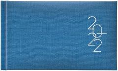 Датированный еженедельник Brunnen Карманный Tirol голубой А6 144 страницы (73-755 37 302)