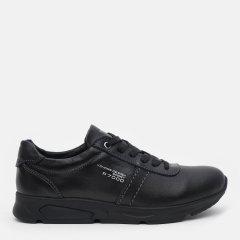 Кожаные кроссовки Konors 8739/3/7-1 39 26 см Черные (KN2000000447407)