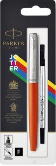 Ручка роллер Parker Jotter 17 Plastic Orange CT RB блистер (15 426)