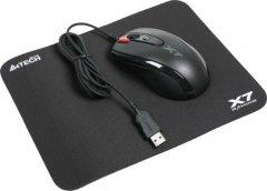 Комплект A4 Tech X-7120: Миша X-710BK USB + килим X7-200MP