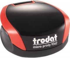 Оснастка для печати Trodat Micro Printy 9342 карманная диаметр 42 мм Красный корпус (190084588447)