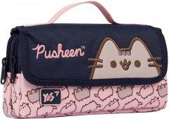 Пенал мягкий YES WL-01 Pusheen розовый/синий (533041)