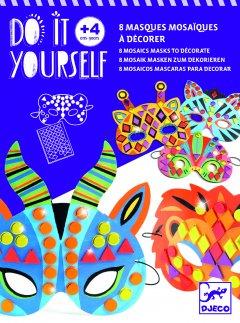 Набор масок Djeco с мозаикой Животные (DJ07900) (3070900079007)