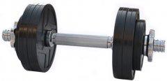 Гантель наборная RN-Sport обрезиненная 7 кг (RN_OD07)