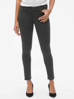 Жіночі джинси-скінні Gap (оливковий, розмір 30)