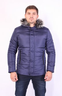 Куртка ZIBSTUDIO аляска XL Синя (7640883)