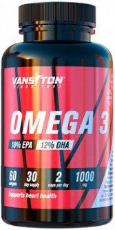 Жирные кислоты Vansiton OMEGA 3 60 капсул (4820106591969)