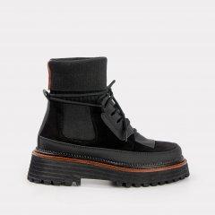 Ботинки VERSHYNINA 21-01502 37 24 см Черные (ROZ6400201758)