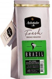 Кофе в зернах Ambassador Fresh Brazil Cemorrado Honey 200 г (8719325224788)