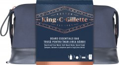 Подарочный набор Gillette King C. Шампунь для бороды и кожи лица 350 мл + Бальзам 100 мл + Гребень для бороды (8006540250631)