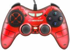 Проводной геймпадEsperanza Fighter PC Red (EGG105R)