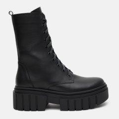 Ботинки LeoModa 1221815 37 (24 см) Черные (LM_2000000002811)