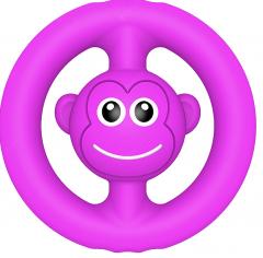 Игрушка-антистресс Simple Dimple Snapperz Пищалка Фиолетовая (2000992410083)