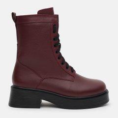 Ботинки LEOMODA 21221/6 40 26см Бордовые (LM_2000000003696)