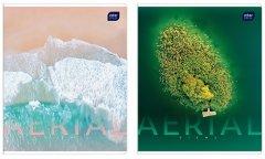 Набор тетрадей ученических Interdruk Premium Aerial View 2 шт А5+ в клетку 96 листов (279224-2B)