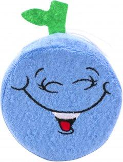 Мочалка-спонж Baby Team хлопковая синяя (7405)