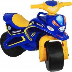 Мотоцикл Active Baby Police Сине-желтый (0139-01570)