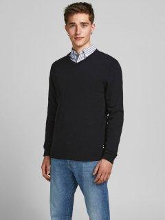 Пуловер Jack & Jones 12137194-3 L Black (5713736480668)