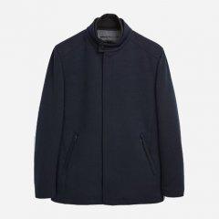 Пальто Zara 0706/455/401 S Темно-синее (00706455401026)