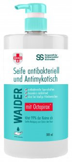 Антибактериальное мыло Waider противогрибкового действия 500 мл (4823098412106)
