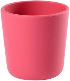 Стаканчик Beaba силиконовый 180 мл Розовый (913435) (3384349134358)
